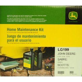 John Deere Genuine LG199 Home Maintenance Kit for JOHN DEERE: L130 G100 G110 SABRE: 2554HV SCOTTS: GT2554HV(2002) S2554 : Lawn Mower Parts : Patio, Lawn & Garden