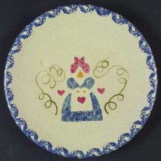 Country Crafts Mammy Dinner Plate, Fine China Dinnerware: Kitchen & Dining