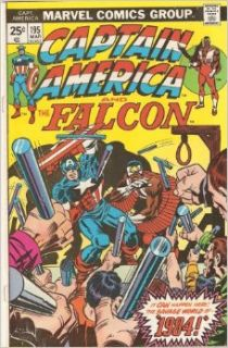 Captain America and The Falcon #195 March 1975: Jack Kirby: Books