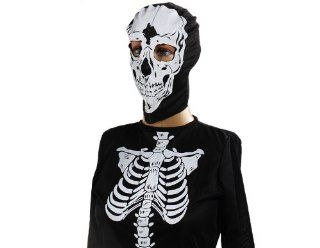 ETOU Halloween Party Supplies Punk Skeleton Clothes Sz XL (Black): Toys & Games