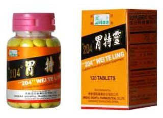 204 Wei Te Ling 120 Tablet Bottle of LV Bai He Brand Dietary Supplements from Solstice Medicine Company: Health & Personal Care