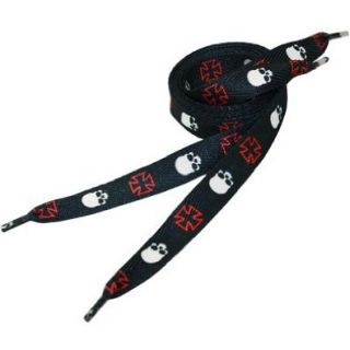 "Fashion Shoe Laces   Skulls Iron Cross 42"" #205 Shoes"
