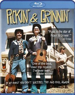 Pickin & Grinnin [Blu ray] Garrett Morris, Johnny Dowers, Garret Mathany, Kenny Loggins, Billy Gibbons, Dave E. Lane, Francis Bay, Jon Gries Movies & TV