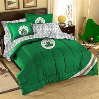 Boston Celtics Full/Twin Size Comforter Set   Kelly Green