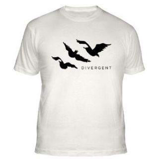 CafePress Divergent Tris Birds Tattoo T Shirt Fitted T Shirt   S Natural: Clothing