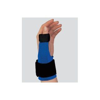 Neoprene Thumb Splint, LG Black / Blue: Clothing