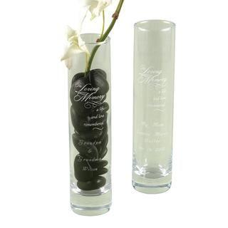 HBH In Loving Memory Bud Vase Other Wedding Essentials