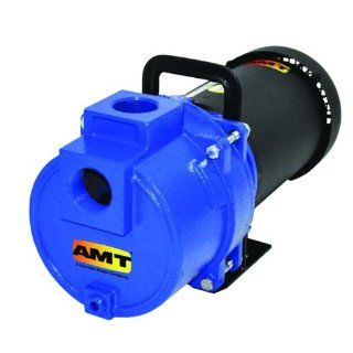 "AMT Sprinkler/Booster Pumps, Cast Iron, 1 1/2"" and 2"" NPT Suction & Discharge Ports: Industrial Pumps: Industrial & Scientific"