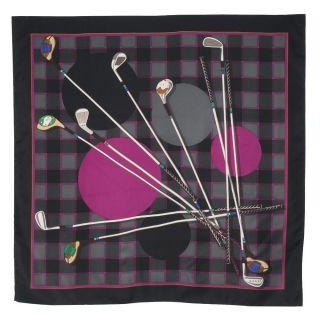 Gucci Men's Golf Club Print Scarf Gucci Designer Scarves & Wraps