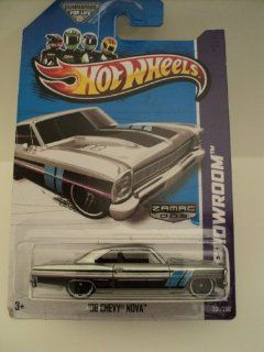 Hot Wheels 2013 ZAMAC #005 '66 Chevy Nova #231/250: Everything Else