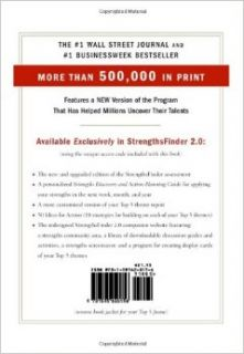 StrengthsFinder 2.0: Tom Rath: 9781595620156: Books