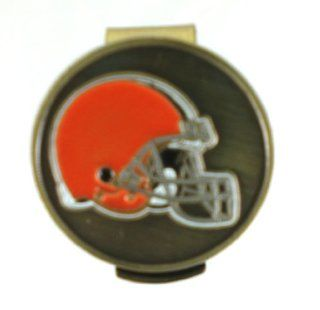 Cleveland Browns Hat Clip & Golf Ball Marker : Golf Equipment : Sports & Outdoors