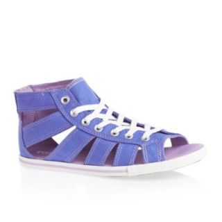 Converse Chuck Taylor Gladiator Mid B Blue Women's Casual Shoes: Sports & Outdoors