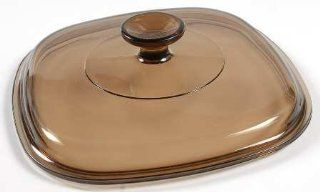Corning Corning Lids & Handles Brown Glass Lid #A 9 C, Fine China Dinnerware: Kitchen & Dining