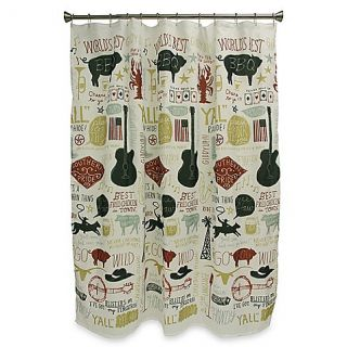 Buy Bacova Southern Pride 70 Inch x 72 Inch Shower Curtain from