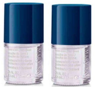 Set of TWO Mary Kay Nail Lacquer Polish Top / Base Coat Set : Everything Else