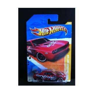 Hot Wheels 2011 New Models Dodge Challenger Drift Car RED 6/50 (6/244): Toys & Games