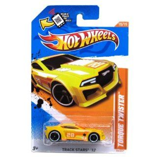 Hot Wheels   Torque Twister (Yellow)   Track Stars 12   15/15 ~ 80/247 [Scale 1:64]: Toys & Games