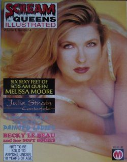 Scream Queens Illustrated Magazine Vol. 1 #4 1994 Featuring Melissa Moore, Julie Strain, & Becky Le Beau : Prints : Everything Else