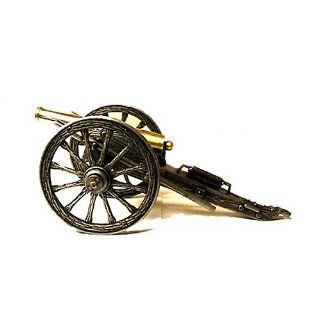 Miniature Napoleon Civil War Cannon w/ Pewter Finish   Collectible Figurines