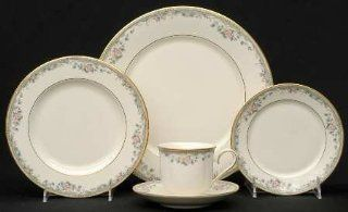 Lenox China Spring Vista 5 Piece Place Setting, Fine China Dinnerware: Kitchen & Dining