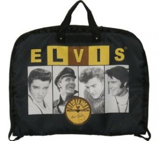 Elvis Presley Signature Product Elvis and Sun Garment Bag,Black Clothing