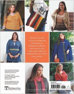 Curvy Girl Crochet: 25 Patterns that Fit and Flatter: Mary Beth Temple: 9781600854125: Books