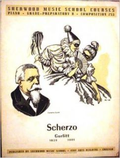 Scherzo (Sherwood Music School Courses Preparatory B, Composition 253): Cornelius Gurlitt: Books