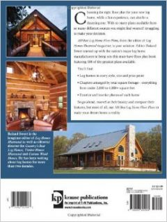 100 Best Log Home Floor Plans (100 Best (Krause Publications)) Roland Sweet 9780896894969 Books