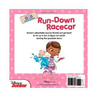 Doc McStuffins Run Down Racecar: Disney Book Group, Sheila Sweeny Higginson, Disney Storybook Art Team: 9781423168478: Books