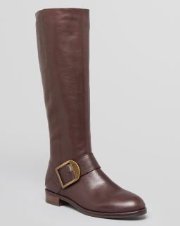 Via Spiga Tall Boots   Idola Buckle Flat's