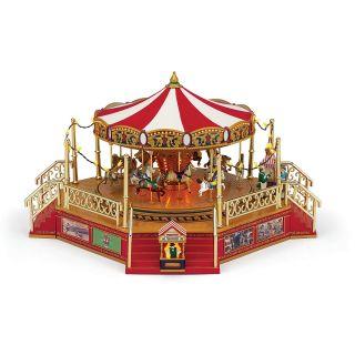 Mr. Christmas World's Fair Carousel with Boardwalk's
