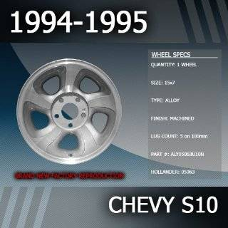 """1994 1995 Chevy S10 Factory 15"""" Replacement Wheel Automotive"""