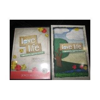 2011 LOVE LIFE WOMEN'S CONFERENCE; 3 DVD SET (JOYCE MEYER; JOHN AND STASI ELDREDGE, AND NANCY ALCORN): AND NANCY ALCORN JOYCE MEYER; JOHN AND STASI ELDREDGE: Books