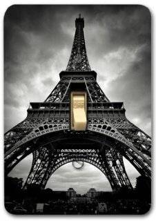 French Paris Eiffel tower Metal Light Switch Plate Cover Home Decor 288