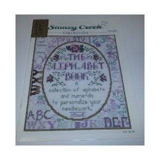The Alphabet Book: A Collection of Alphabets and Numerals to Personalize Your Needlework Vol. 2 (Stoney Creek Collection Cross Stitch Pattern, Book 288): Books