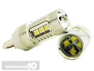 Genssi 2x 80W CREE White 3157 3057 High Power LED 12V Turn Signal Brake Reverse USA Automotive