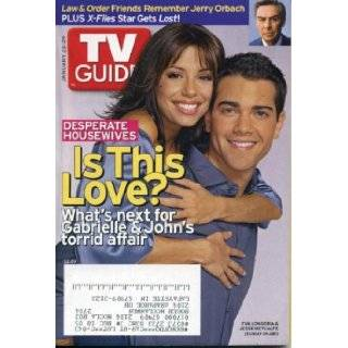 TV Guide January 23, 2005 Eva Longoria & Jesse Metcalfe/Desperate Housewives, Jerry Orbach/Law & Order, Hilary Duff on Joan of Arcadia, Chad Michael Murray/One Tree Hill TV Guide Books