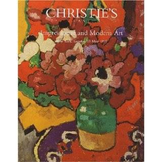 Impressionist and Modern Art [Christie's, East (7999) / 13 May 1997] Christie's Books