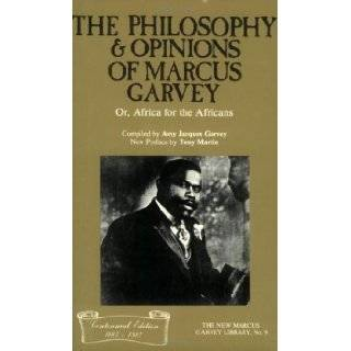 The Philosophy and Opinions of Marcus Garvey, Or, Africa for the Africans (The New Marcus Garvey Library, No. 9) by Garvey, Marcus, Garvey, Amy Jacques published by Majority Pr (1986) Paperback: Books