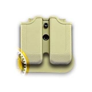 Double Magazine Pouch for BERETTA PX4; H&K P30; H&K USP COMPACT (9/40); RUGER SR9; STEYR M SERIES; S&W SIGMA; TAURUS 24/7 Desert Tan : Gun Holsters : Sports & Outdoors