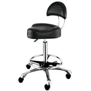 AROHA Barber Chair Styling salon beauty equipment Stool with Hydraulic Star Base: Beauty