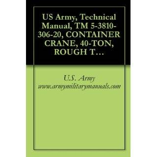 US Army, Technical Manual, TM 5 3810 306 20, CONTAINER CRANE, 40 TON, ROUGH TERRAIN, MODEL RT875CC (NSN 3810 01 205 2716) AND ROUGH TERRAIN, MODEL RT875CCS (NSN 3810 01 497 1001), military manauals eBook U.S. Army www.armymilitarymanuals Kindle Store