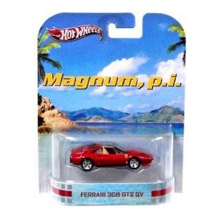 Hot Wheels Magnum, P.I. Ferrari 308 GTS QV Die Cast Car Toys & Games