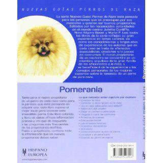 Pomerania. Nuevas guias perros de raza (Nuevas Guias Perros De Raza/ New Guide of Dog Breeds) (Spanish Edition): Olga Baker: 9788425518416: Books
