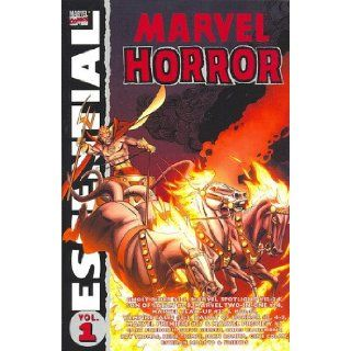 Essential Marvel Horror, Vol. 1 (Marvel Essentials) (v. 1): Gary Friedrich, Steve Gerber, Mike Friedrich, Chris Claremont, John Warner, Bill Mantlo, Gerry Conway, Roy Thomas: 9780785121961: Books