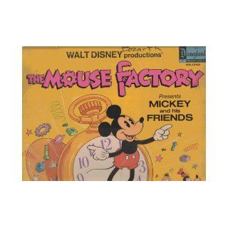 WALT DISNEY PRODUCTIONS THE MOUSE FACTORY PRESENTS MICKEY AND HIS FRIENDS VINYL RECORD ALBUM 331/3 RPM Books
