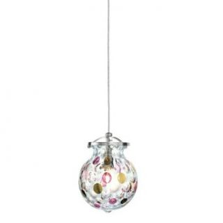 LBL Lighting HS332PGSC1B50FSJ Daisy   Fusion Jack Low voltage Pendant, Choose Finish: SN: Satin Nickel Finish: Home Improvement