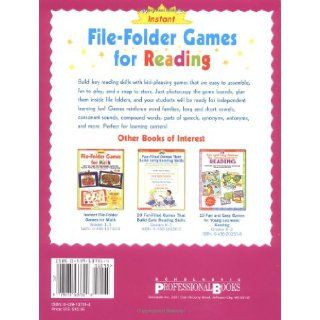 Instant File Folder Games for Reading: Super Fun, Super Easy Reproducible Games That Help Kids Build Important Reading Skills Independently!: Marilyn Myers Burch, Marilyn Burch: 9780439137317: Books