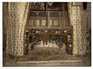Grotto of the Nativity, Bethlehem, Holy Land, West Bank   Prints